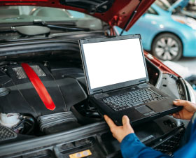 Check Engine Light Car Diagnostic Test